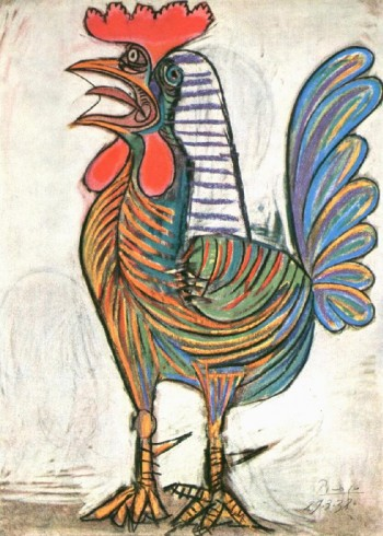 picasso_The_Cock_1938_