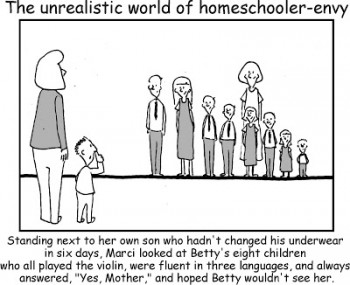 homeschooler envy