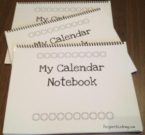 My Calendar Notebook~ PassportAcademy.com